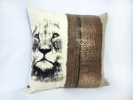 housse-coussin-lion-deco-interieur-tissus-sauvage-marron
