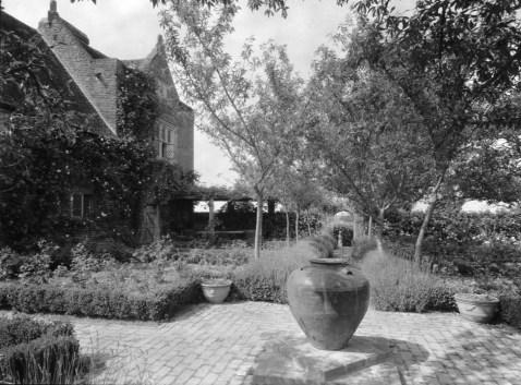 Vita's rose garden 1942. All photos in the gallery are copyright of Adam Nicolson.