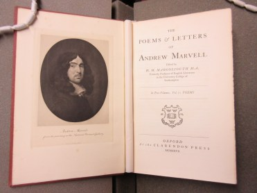 The poems and letters of Andrew Marvell (1927)