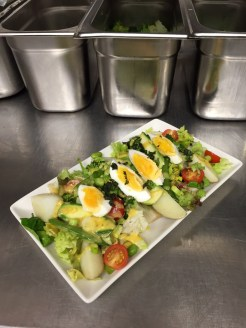 A fresh Sissinghurst salad