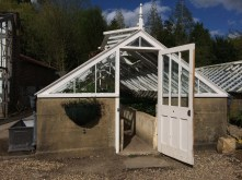 Gravetye has a beautiful collection of Victorian glasshouses.