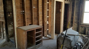 New Pantry. I'll be able to reuse the original pantry door.