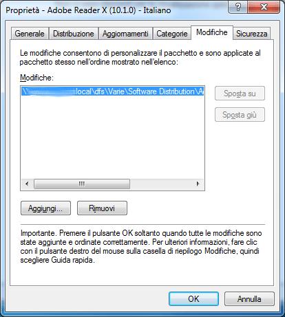 Castomizzare e installare Adobe Acrobat Reader X (10 1 x
