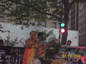Ledisi in Madison Sq. Park, NYC