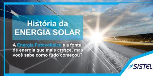 O avanço da energia solar na história