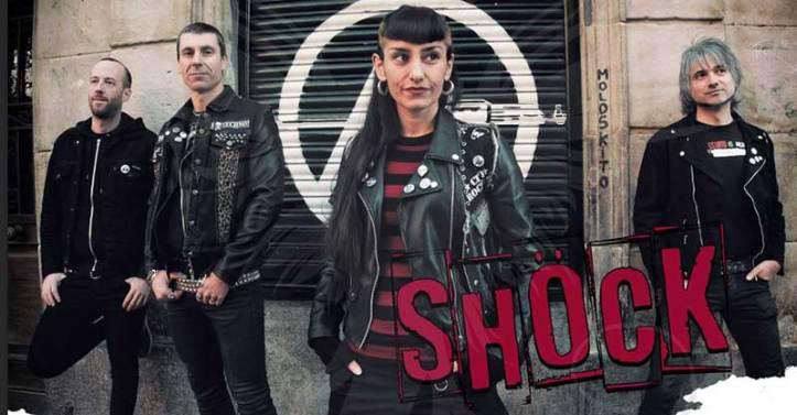 Integrantes de la banda de Shock