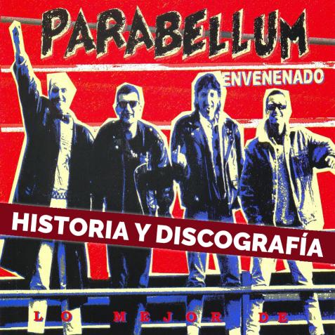 Portada del disco Envenenado de la banda Parabellum