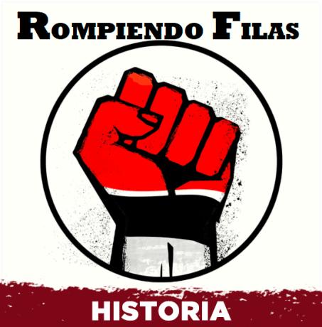 Logo de Rompiendo filas rock