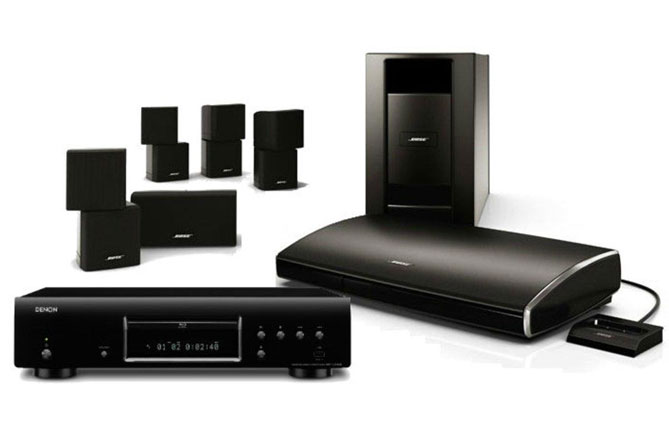Productos Bose para instalaciones de home cinema habituales de SistemasAudiovisuales - VisualPlanet