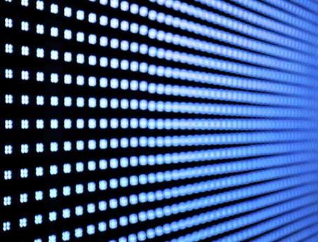 Panel LED desarrollado por SistemasAudiovisuales - VisualPlanet para sus instalaciones