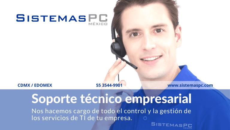 Soporte técnico empresarial en México el costo beneficio de contratarlo