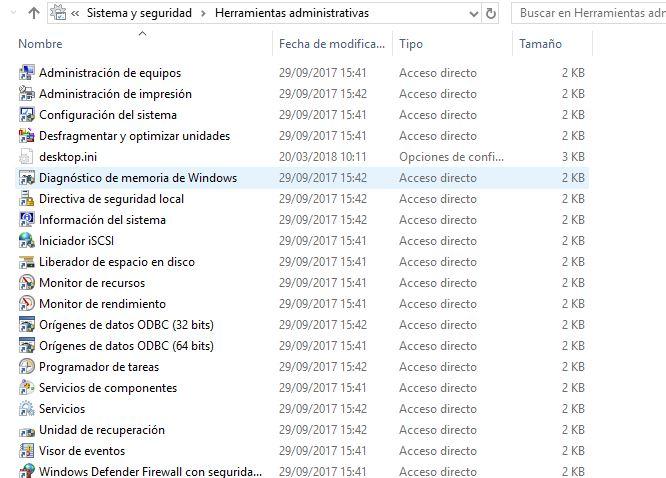 Algunas herramientas administrativas en Windows