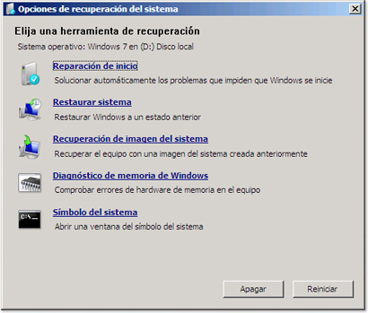 Reparaciones de arranque en Windows y Linux
