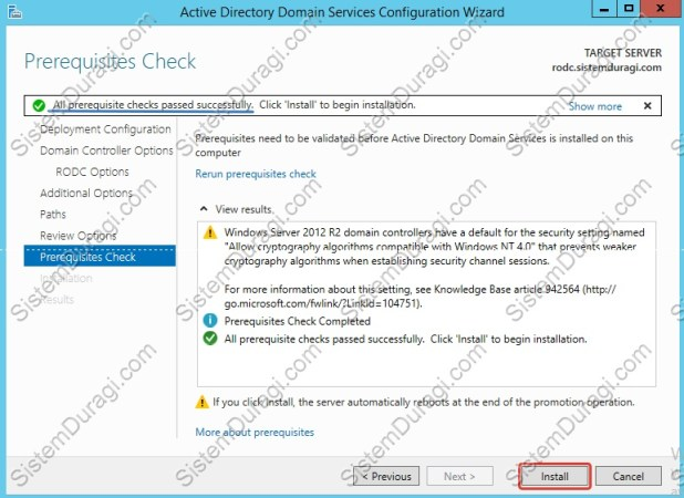 Read Only Domain Controller Kurulum (11)