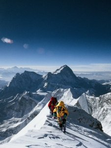 Everest film still, courtesy of MacGillivray Freeman Films