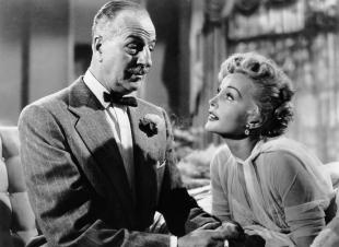 WE'RE NOT MARRIED!, from left, Louis Calhern, Zsa Zsa Gabor, 1952, ©20th Century Fox, TM & Copyright,