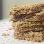 Sun Butter and Jam Oat Bars