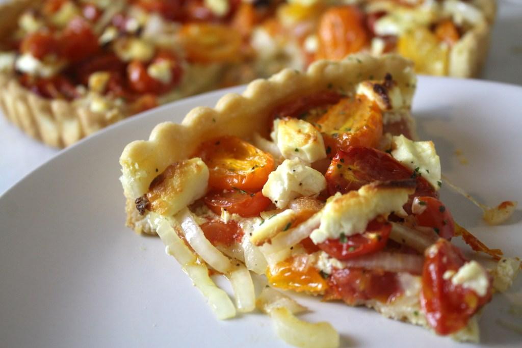 Goat Cheese and Tomato Tart