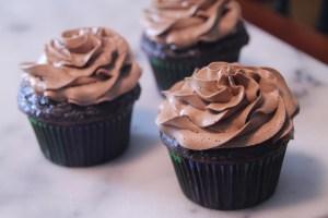 Chocolate on Chocolate Cupcakes