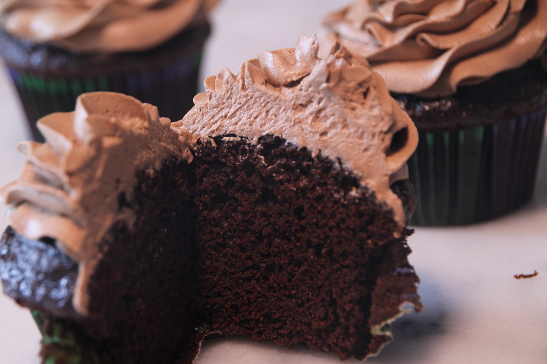 Chocolate on Chocolate Cupcakes