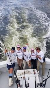 Pink Ladies Fishing Team