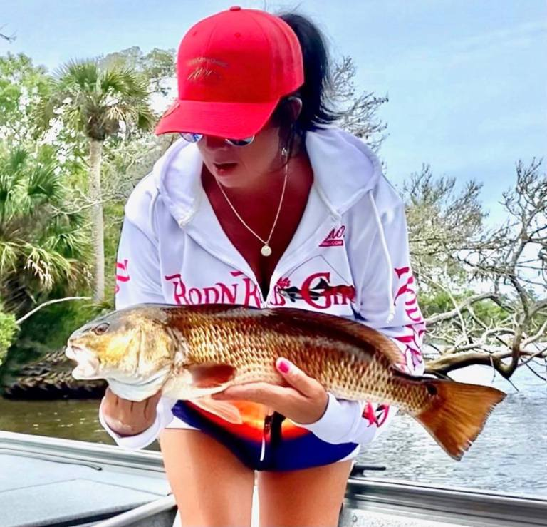 RodnReelGirls.com Pro Staff Terrie B Huffmaster is not only a great friend and angler