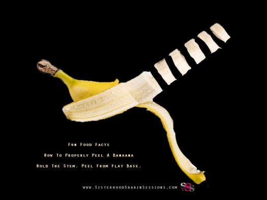 How To Property Peel And Eat a Banana