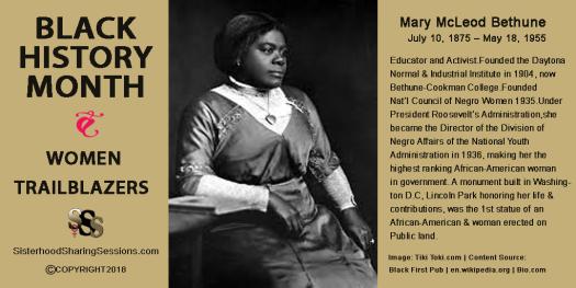 Black History Month | Women Trailblazers Series