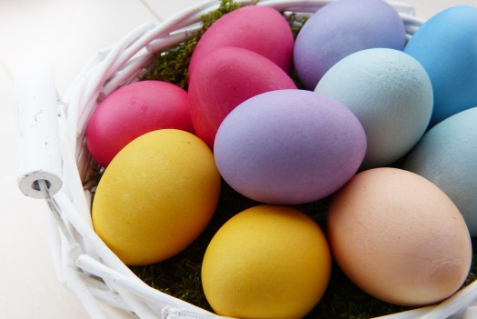 Color Easter Eggs