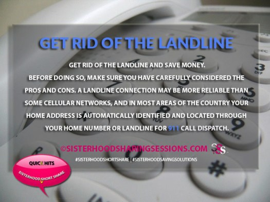 Should You Get Rid Of The Landline To Save Money