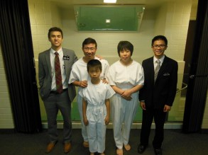 Sister Guan and Larry's baptism