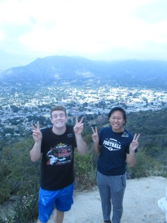 Elder Campbell and I being Asian