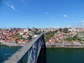 View of Porto from Mosteiro da Serra do Pilar in Gaia