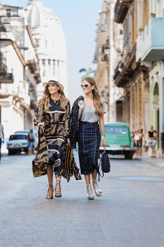 Sisterly Style In #ChanelCruiseCuba