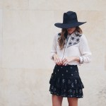 The Mini Skirt for Fall