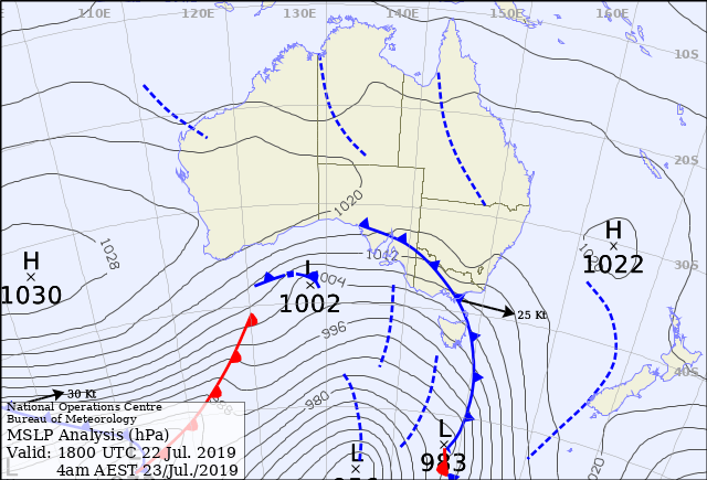 What are Synoptic charts: To create a complete picture, observations are taken at agreed times at weather stations worldwide. They are then plotted onto a synoptic chart.