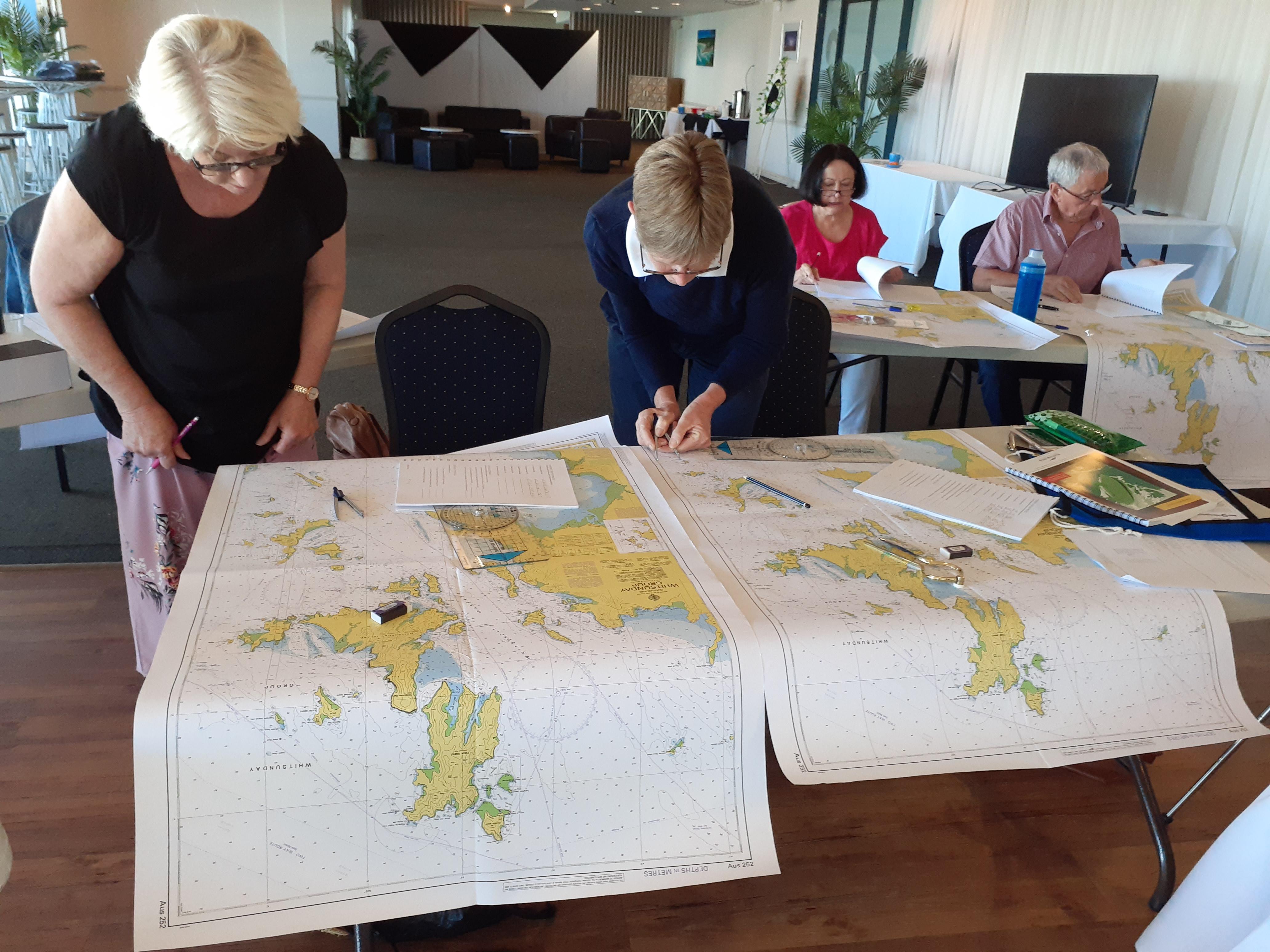 Navigational Chart lessons