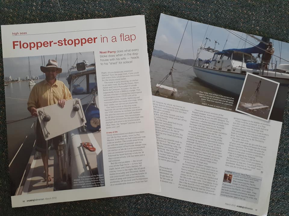 Cruising Helmsman article on flopper stoppers