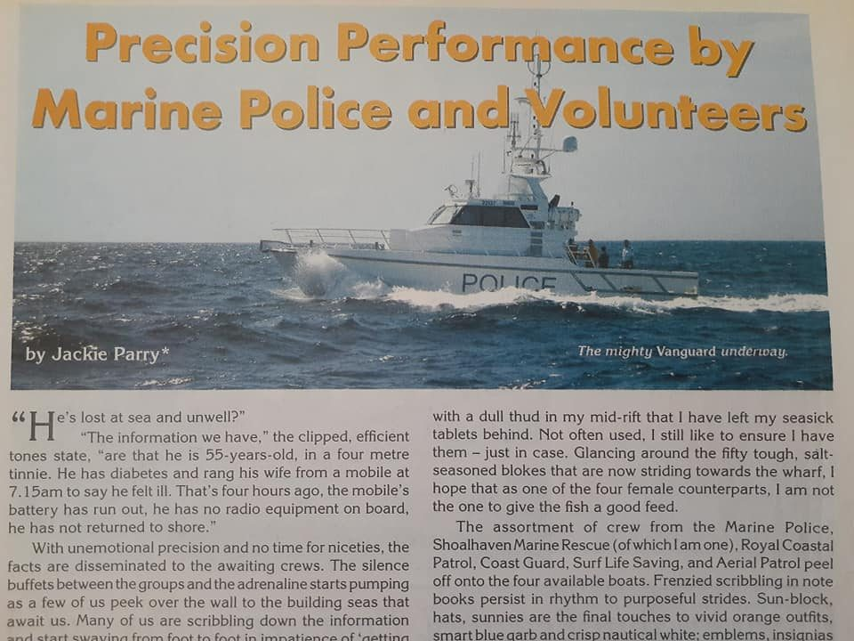 Afloat magazine article