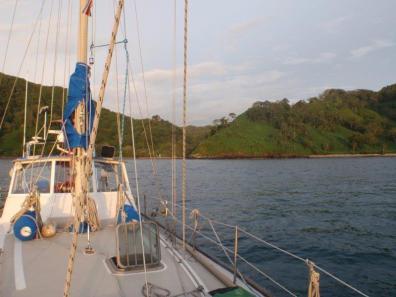 Anchored at Costa Rica's Little Gem Isle de Cocos