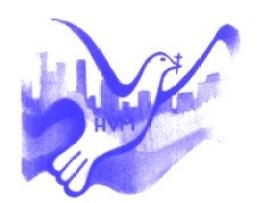 Detroit with dove - BLUE - HVM Logo