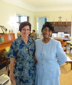 Sr. Barbara and Thelma Wilson
