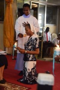 Sr. Jennifer making her final vows