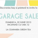 "Sisters'Kitchen vă invită la ""Summer garage sale"""