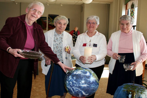 Sisters of Charity of the Immaculate Conception celebrate Earth Day