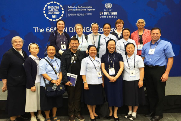 Vincentian Family at 66th UN DPI NGO Conference in South Korea