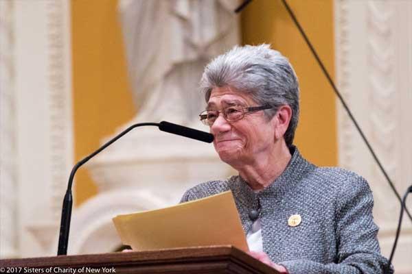 Sister Jane President of Sisters of Charity New York