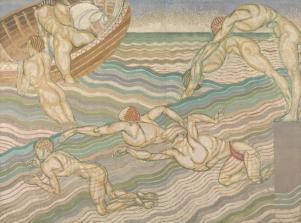 Bathing 1911 Duncan Grant 1885-1978 Purchased 1931 http://www.tate.org.uk/art/work/N04567
