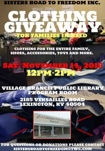 Clothing Giveaway November 2015