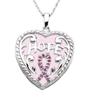 Breast Cancer Awareness Necklace 1